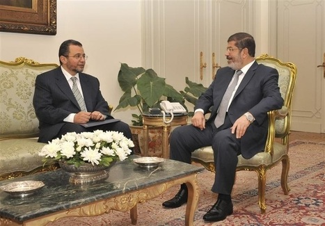 Egypt's Mursi meets with PM at presidential palace | Égypt-actus | Scoop.it