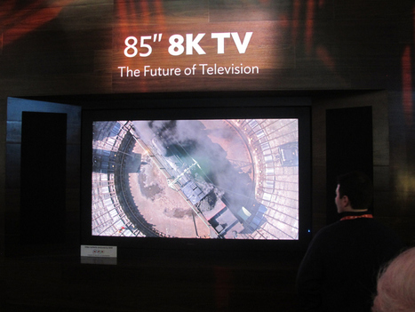 World's First 8K TV | Broadcast Engineering Notes | Scoop.it