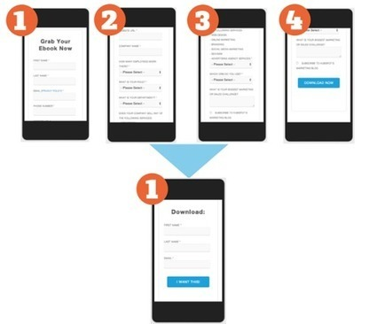 How We Increased the Conversion Rate on Our Mobile Landing Pages [New Data] | Website Pages Advice | Scoop.it