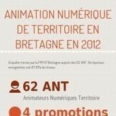 Infographic: L'Animation Numérique de Territoire en Bretagne en   chiffres e-tourisme   Scoop.it