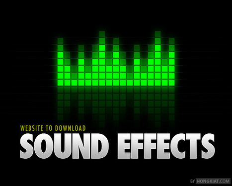 55 Great Websites To Download Free Sound Effects | Aprendiendo a Distancia | Scoop.it