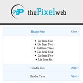 Simple accordion script using javascript - thePixelWeb | Web Design and Development | Scoop.it