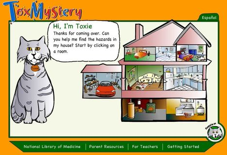 ToxMystery - Learning about Chemical Hazards for Grades K-6 | Education Matters - (tech and non-tech) | Scoop.it