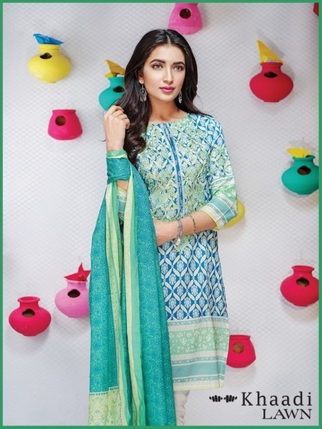 Khaadi Summer Lawn Collection 2016 | Latest Fashion Trends Updates | Scoop.it