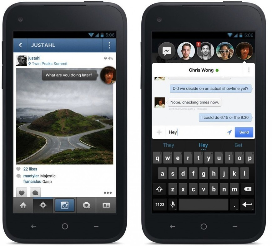 A Tour Of Facebook's Home On Android - AllFacebook