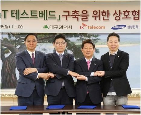 SK Telecom et Samsung s'associent pour créer la première Smart City de Corée du Sud - H+ Magazine   Ville Numérique   Scoop.it