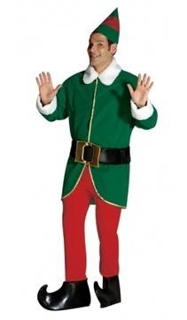Sonia IDF - Le costume du lutin une idée de déguisement pour la fête de Noel | deguisement noel | Scoop.it