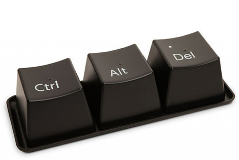 Ctrl, Alt, Delete: il set di tazze per chi non sa guardare la tastiera senza bersi un caffè | Giusy Barbato | Food & Beverage - Art,Communication & Marketing | Scoop.it