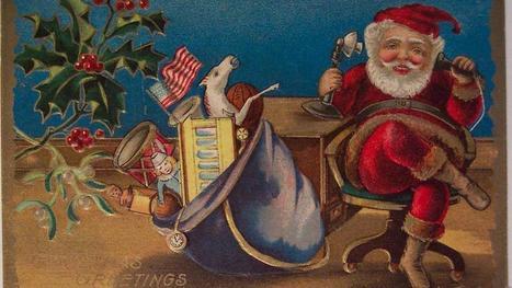 Mashable lists 10 bad habits of Vintage Santas | Santa Claus in social media | Scoop.it