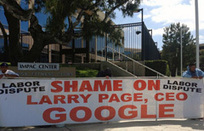 Protest Outside Of Google's Irving Office Over Labor Page & Labor Dispute   Digital-News on Scoop.it today   Scoop.it