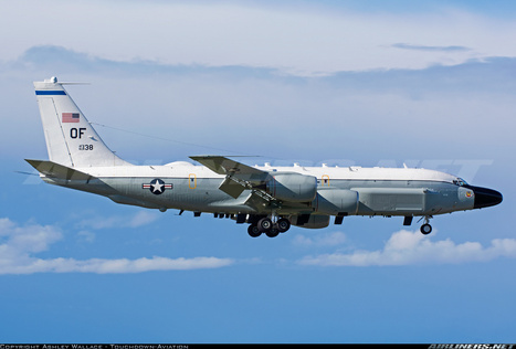 Photos: Boeing RC-135W (717-158) on final approach | Aviation & Airliners | Scoop.it