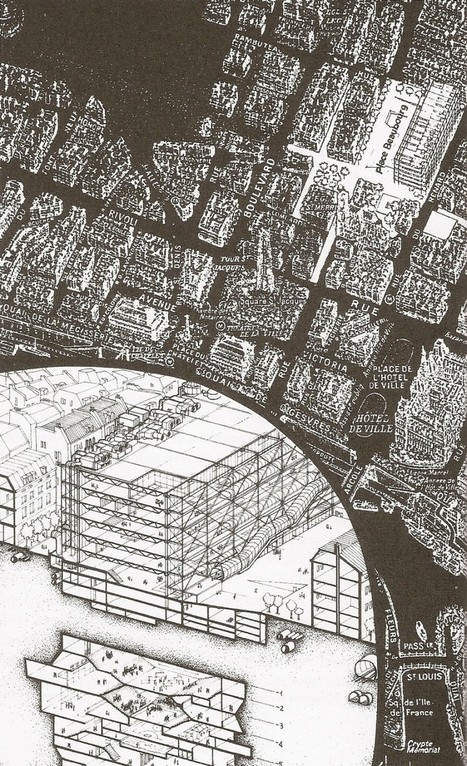 The So-called Utopia of Centre Beaubourg, (An interpretation) – Luca Frei : socks-studio | The Architecture of the City | Scoop.it