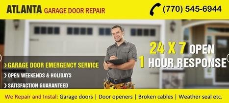 Atlanta Garage Door Repair : Fixing Eyesore of your Home - Damaged Garage Door Panels   Garage Door Services Atlanta   Scoop.it