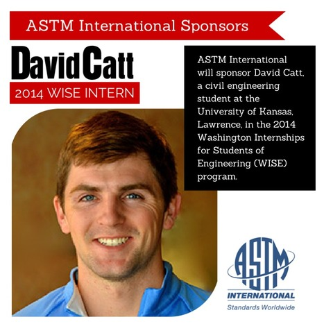 ASTM International Sponsors University of Kansas Student in 2014 WISE Internship Program | STEM Advocate | Scoop.it