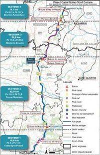 Le Canal Seine Nord Europe désormais «irréversible» - Transport et infrastructures   Le Grand Paris sous toutes les coutures   Scoop.it
