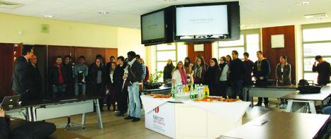 Télécom Saint-Etienne développe ses relations avec les écoles associées de l'Institut Mines Télécom avec « Les semaines de … » | Télécom Saint-Etienne | Scoop.it