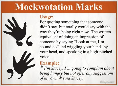 8 New Punctuation Marks We Desperately Need   Personal [e-]Learning Environments   Scoop.it