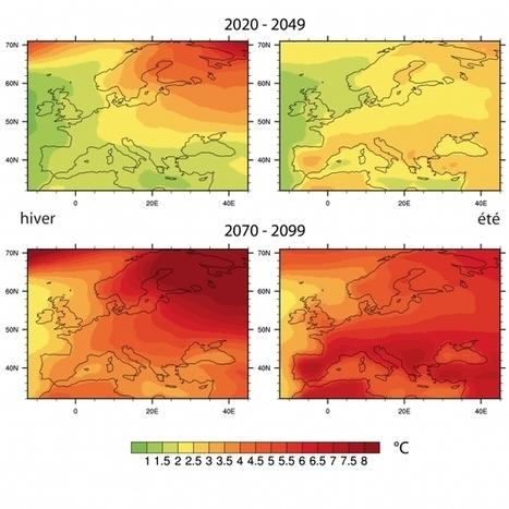 Projections du climat de la France pour le XXIe siècle - INSU-CNRS (Communiqué de presse) | Sciences et FLE | Scoop.it