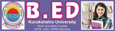 MDU & KUK University B.Ed Eligibility, Fee, Duration Procedure 2014   Haryana B.ed Admission   Scoop.it