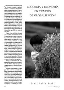 Ecología y economía en tiempos de globalización | None | Scoop.it