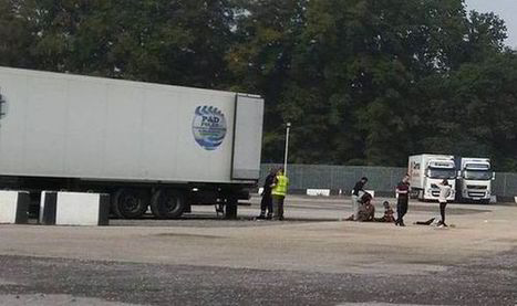 24 illegal immigrants saved from the back of airtight lorry | Uk Immigration | Scoop.it