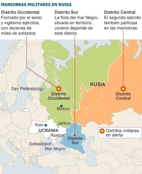 Putin pone en estado de alerta a las tropas del centro y oeste de Rusia   Legendo   Scoop.it
