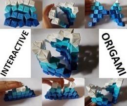 Interactive Origami Sculpture | Por y para la educación | Scoop.it