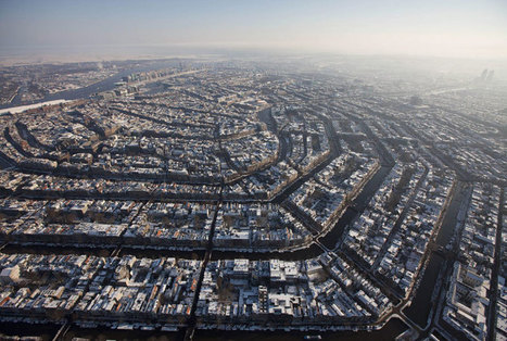 Picture of the Day: Amsterdam from Above | Regional Geography | Scoop.it