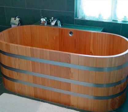La baignoire en bois pour un voyage dans le passé | Filière bois : Filière d'avenir | Scoop.it