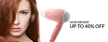 Hair Dryers - UP TO 40% OFF , deals fromElectronics, discount voucher from India | thetradeboss | Scoop.it