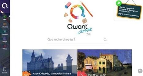 Qwant Junior. Un moteur de recherche pour les enfants | Le Web Parental | Scoop.it