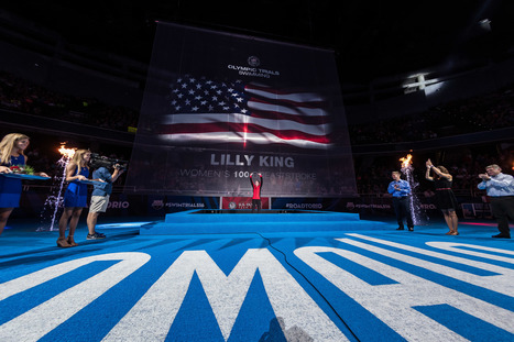The Up Close And Personal Side of Olympic Trials - Swimming World News | Competitive swimming | Scoop.it