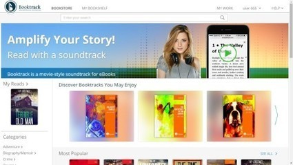Booktrack Launches eBookstore for Audio-Enhanced eBooks, Adds Web Embedding Option   Ink, Bits, & Pixels   Ebook and Publishing   Scoop.it