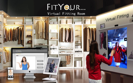 Virtual Dressing Room: Size-Fitting Online Machine for Your Virtual Shopping | Online Virtual Fitting Room - Fityour | Scoop.it