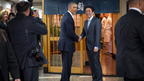 Obama's First Order of Business in Tokyo: Sushi From the Master | Gov & Law~Benton Blank | Scoop.it