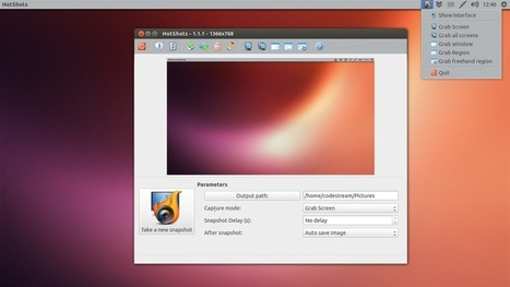 Take a Screenshot and Edit Them in Ubuntu Desktop with Hotshots | Ubuntu Portal | Ubuntu Server | Scoop.it