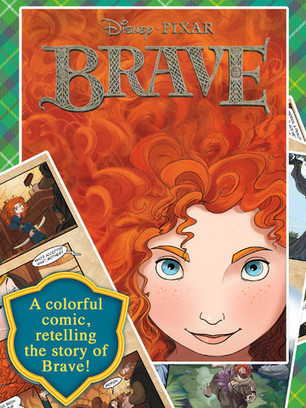 Disney's Movie Brave is Now Available as an Interactive iPad App Comic | iPadApps | Scoop.it