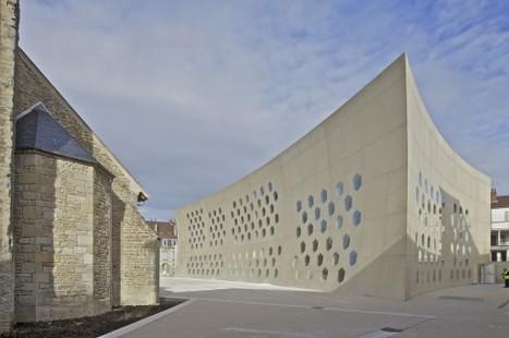 Lons le Saunier Mediatheque / du Besset-Lyon Architectes | architecture et bibliotheques | Scoop.it