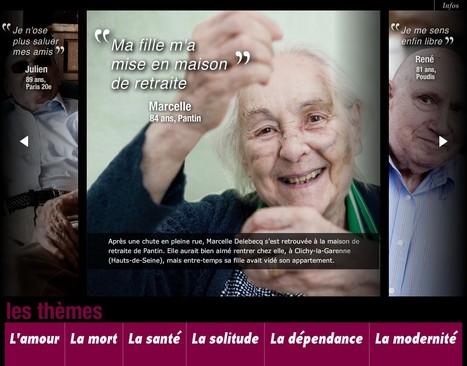 Vieillir en France - LeMonde.fr | L'actualité du webdocumentaire | Scoop.it