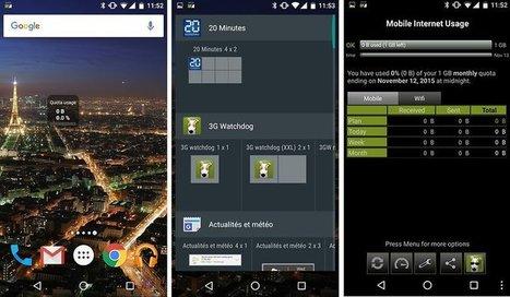 5 widgets à découvrir immédiatement sur votre Android - AndroidPIT | Freewares | Scoop.it