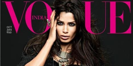 Freida Pinto's Vogue India Cover Is Dark And Dramatic (PHOTOS) | like | Scoop.it