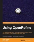 Using OpenRefine - PDF Free Download - Fox eBook | OpenRefine | Scoop.it