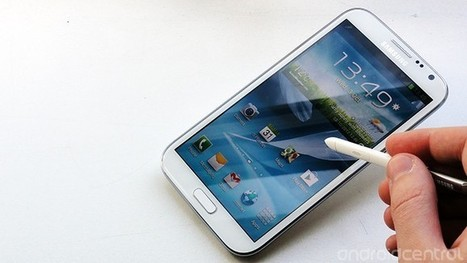 Korean Galaxy Note 2 sales reportedly top one million | Android Central | Smart Phone & Tablets | Scoop.it