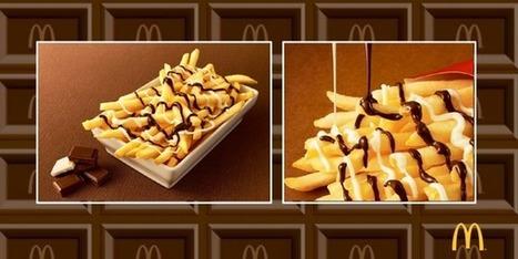 Les McDo du Japon vont lancer des frites au chocolat | La cuisine japonaise | Scoop.it