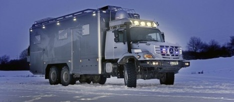 Zetros Truck By Mercedes Benz Is A Luxury Apartment On Wheels | Chasing the Future | Scoop.it