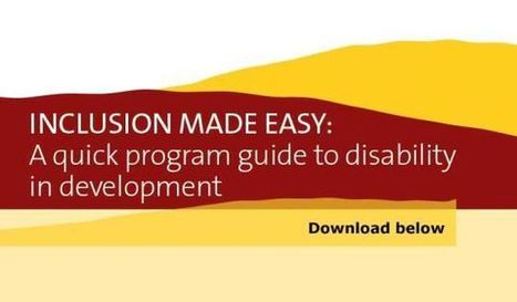 Inclusion Made Easy | CBM International | Inclusive Education | Scoop.it