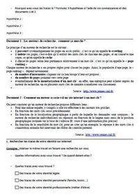 Identité et présence numérique : fiches de séances pédagogiques | informations doc | Scoop.it