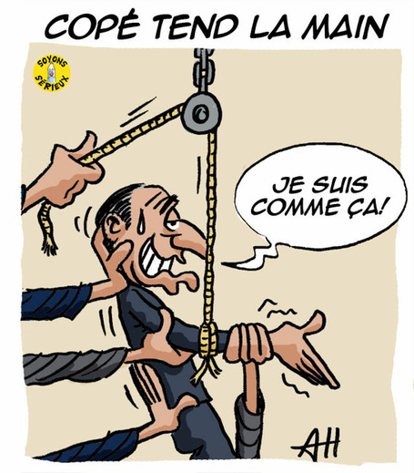 Copé tend la main à Fillon | Baie d'humour | Scoop.it