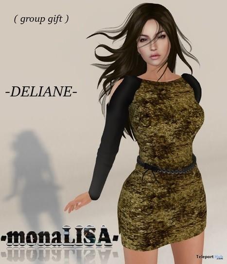 Deliane Dress Group Gift By MonaLISA   Teleport Hub - Second Life Freebies   Second Life Freebies   Scoop.it