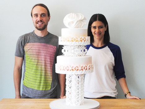 Meet the inventors of a 3-D printer for hyper-complicated candy   Technoculture   Scoop.it